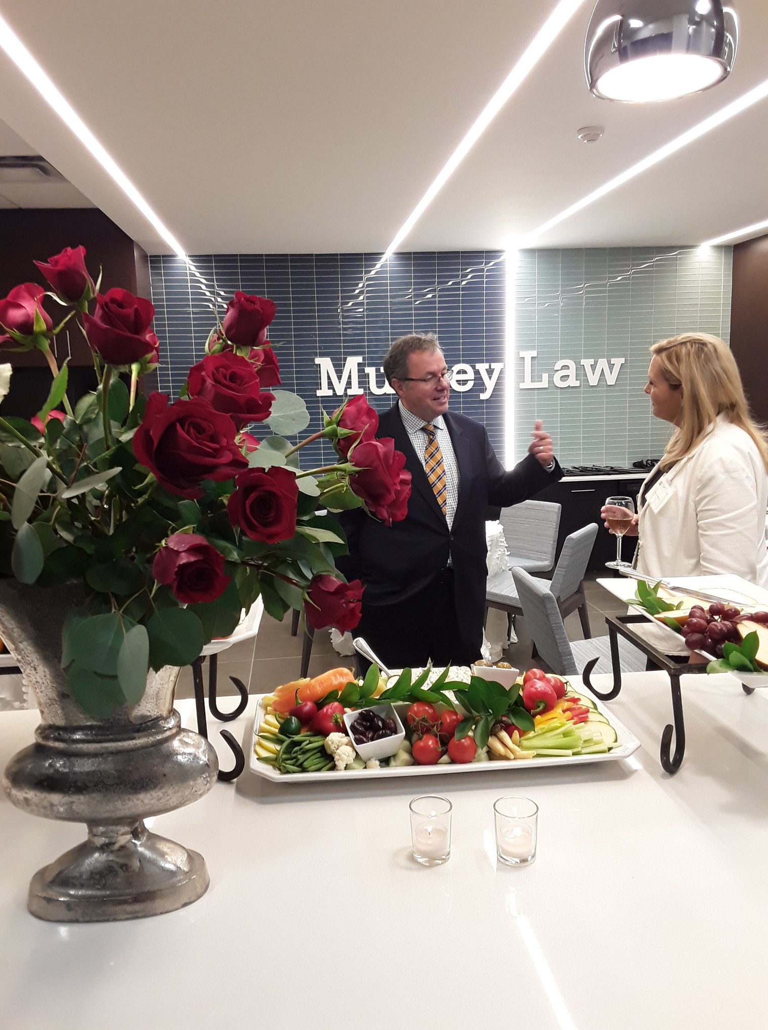 Casual Collisions at Munley Law Offices demonstrate another reason we can't wait to return to the workplace.